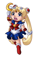 Chibi Sailor Moon v2 by TwinEnigma