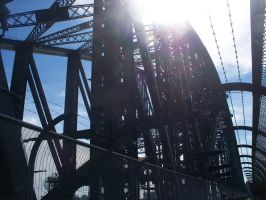 Sydney Harbour Bridge-A different View by beautifulartisabang