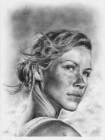 Evangeline Lilly LOST by CKArtpage
