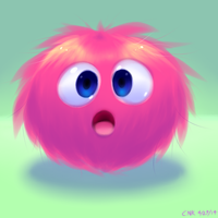 Fuzz Ball by LadySomnambule