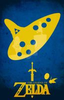 Ocarina of Time Poster by GushueDesign