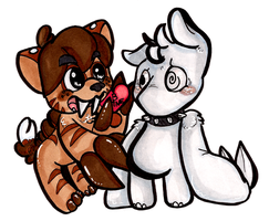Happy LATE Valentines Day 2012 by CritterKat