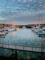 Jetty Marina Reflections by AwakenendByDreams