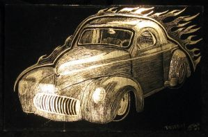 1941 Willys Coupe by Destiny-Carter