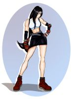 Tifa in work by Rayphear