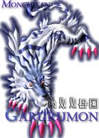 Garurumon-color by monchiken