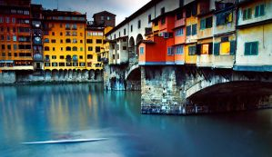 Kayaking Under Ponte Vecchio by sican