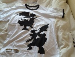 Pokemon Black and White T-Shirt by extraphotos