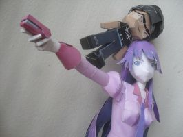 Hitagi and Me by ckry