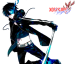 Black Rock Shooter}Render by xOrph3us