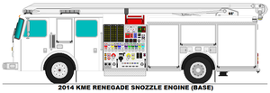 KME Renegade Snozzle Engine base by MisterPSYCHOPATH3001