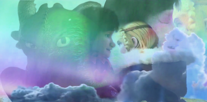 Hiccstrid + HTTYD 2 Hiccstrid Kiss Animation by lilgerndt