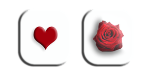 Heart rose by Toash