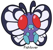 Vector: Butterfree Pokedoll by Fishlover