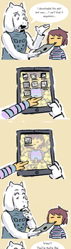 Undertale - Toriel's Tablet Troubles by DeydW