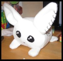 Bunny plush by Rienquish
