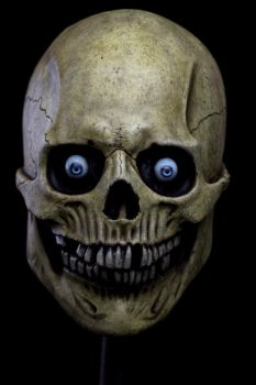 Skull Halloween mask 1 by masocha