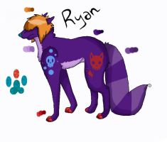 Ryan new OC design by Late-Night-Cannibals