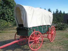 Covered Wagon by KelbelleStock