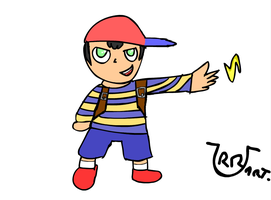 Ness by UrrArts