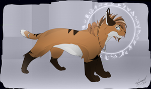 Kyuri- the caracal by lycangel