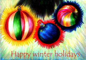 Happy winter holidays 2011. by VeIra-girl