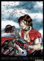 Claire Redfield: Color by SHADOBOXXER