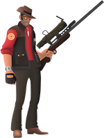 The Sniper TF2 by ninja-steave
