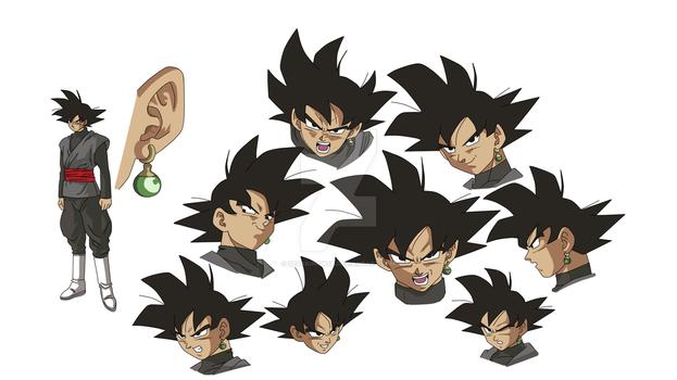 Goku Black Concept Art by SparkingMtr