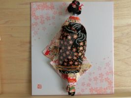 Maiko almost 3D doll by pechaningyou