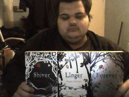 Me With My Favorite Book Set by jack9730