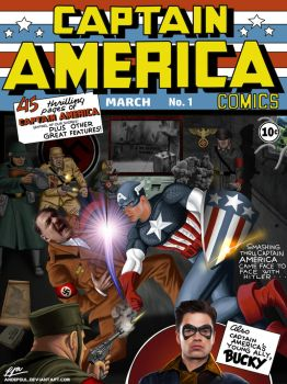 Captain America #1 (ft. Chris Evans) by andepoul