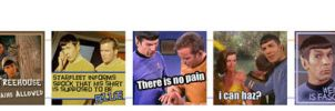 Spock Humor Icon Strip by KCScribbler
