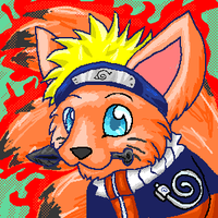 Naruto Kyuubified by Lonina