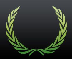 Laurel wreath custom shape by adanalvarado