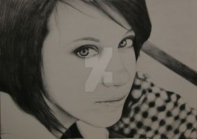 Self Portrait by AllieRaines