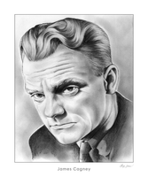 James Cagney by gregchapin