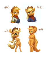 Apple Applejack styles pt4 by AssasinMonkey