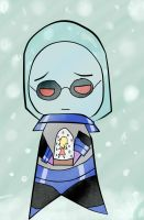 DC Chibi - Mr.Freeze by Catgirlemi7