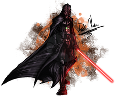 Darth Vader by Dark-Spine-Dragon