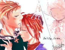 APH- Ger.Ita.HRE. Dont't cry. by LunaticRoseX