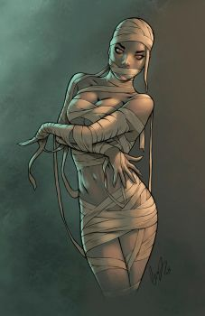 Mummy Chick Color by logicfun