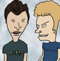 Beavis and Butthead by graveflower2007