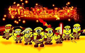 The Minions by PaulSkywalker