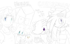 Random 114 - Happy OC Holidays by Sonic-Toad