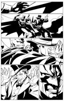 Detective Comics 842 The Fight by dfridolfs