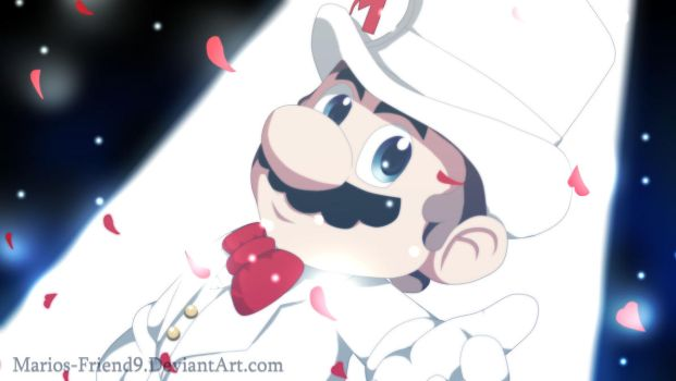 Mario Odyssey: Wedding Mario by Marios-Friend9