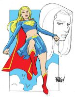 SUPERGIRL by Wieringo