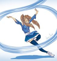 LadyLirriea Request - OC waterbending by ofpink