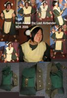 Toph Cosplay by puppyShaker